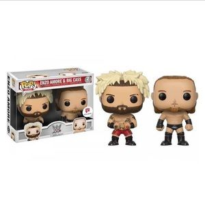"WWE Authentic Enzo & Big Cass ""BattlePack"" POP!"